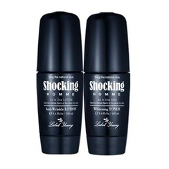 Label Young - Shocking Homme Set: Skin 160ml + Lotion 160ml