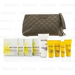 Decleor 思妍麗 - Travel Set: Day Cream 15ml + Rich Cream 15ml + Night Cream 15ml + Night Balm 5ml + Body Milk 50ml + 4 Samples + Bag