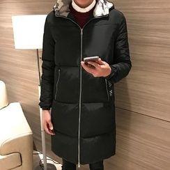 AOBIN - Camouflage Hood Padded Coat