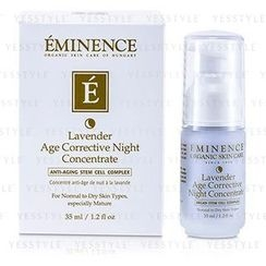 Eminence - Lavender Age Corrective Night Concentrate (Normal to Dry Skin, Especially Mature)