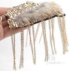 Trend Cool - Tassel Shoulder Badge