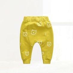 ciciibear - Kids Print Harem Pants