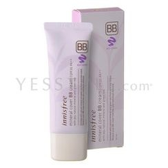Innisfree - Mineral Cover BB Cream SPF 35 PA++ (#01 Light Beige)