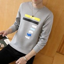 Bay Go Mall - Printed Pullover