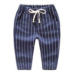 DEARIE - Kids Pinstriped Pants
