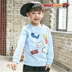 BILLY JEAN - Boys Crew-Neck Graphic Sweatshirt