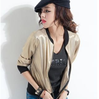 CUTIE FASHION - Metallic Jacket