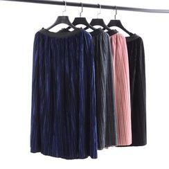 Tulander - Pleated Midi Skirt