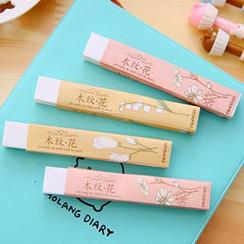 MissYou - Floral Print Eraser