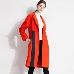 Halona - Contrast-Trim Coat