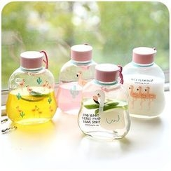 Momoi - Print Glass Drinking Bottle
