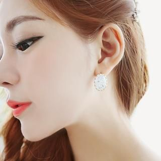 soo n soo - Crystal Earrings
