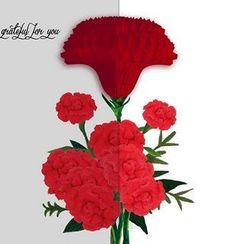 Full House - Flower Greeting Card