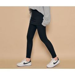 HOTPING - Inset Skirt Leggings