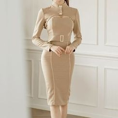 Aurora - Cutout Sheath Dress