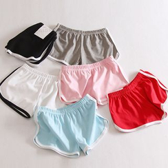 Lacyland - Piped Sweat Shorts