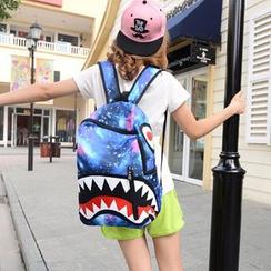 Bagolo - Printed Nylon Backpack