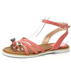 MODELSIS - Rhinestone Toe-Loop Sandals