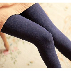 Little Flower - Fleece-Lined Leggings