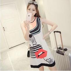 MayFair - Print Sleeveless Dress