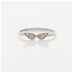 Gold Beam - Wing Ring