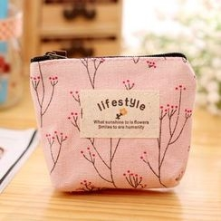 Gold Beam - Printed Zip Pouch