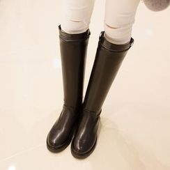 QQ Trend - Buckled Tall Boots