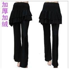 Dancing Queen - Inset Skirt Dance Pants
