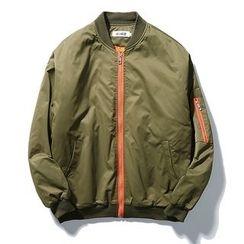 ZZP HOMME - 刺繡飛行夾克