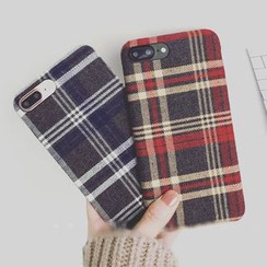 Milk Maid - Plaid iPhone 6 / 6 Plus / 6S / 7 / 7 Plus Case