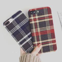 Milk Maid - 格子iphone6/6plus/6s/7/7plus手機殼