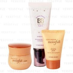 Etude House - Best Seller Set (3 items): Cream 60ml + Sleeping Pack 30ml + BB Cream 60g