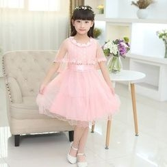Famula - Kids Lace A-Line Dress