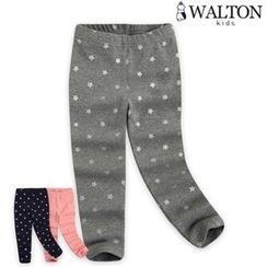 WALTON kids - Girls Star Pattern Leggings