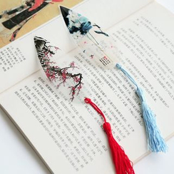 Class 302 - Printed Tassel Bookmark