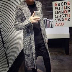 Better Man - Hooded Long Cardigan