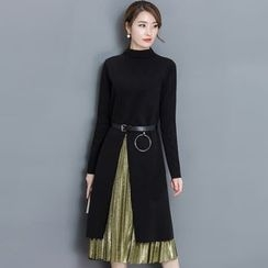 EFO - Set: Dress + Pleated Skirt