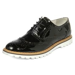 yeswalker - Patent Brogue Oxford Shoes