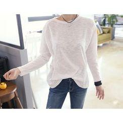 DANI LOVE - Round-Neck Raglan-Sleeve T-Shirt