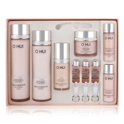 O HUI - Miracle Moisture Set : [Skin Softener 150ml + 20ml] + [Emulsion 130ml + 20ml] + Essence 20ml + Cream 20ml + Ampoule777 7ml x 3pcs [1set ( 9pcs )]
