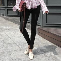 LIPHOP - High-Waist Skinny Pants