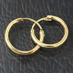 晴雯 - 马蹬式耳环