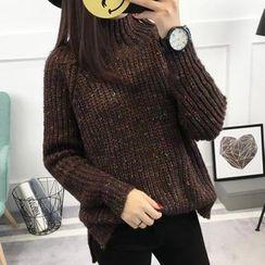 Asally - Melange Chunky Sweater