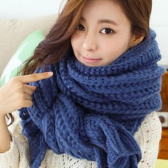 FROME - Cable Knit Scarf