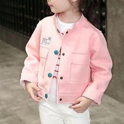 Matatabi - Kids Pocket-Accent Buttoned Jacket