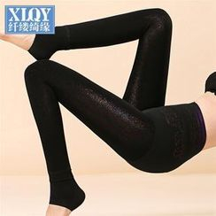 Rivari - Fleece-Lined Stirrup Leggings