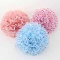 Palmy Parties - 紙花形裝飾球