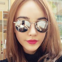 Biu Style - 2-Way Round Sunglasses