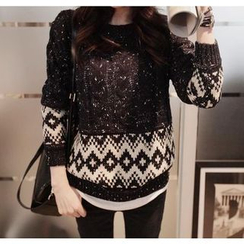 QZ Lady - Melange Sweater