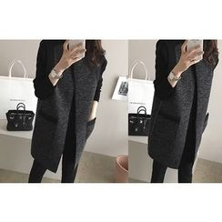 DAILY LOOK - Open-Front Knit Vest